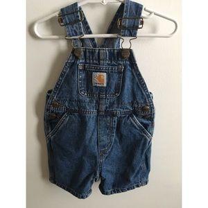 Carhartt Baby Short Overalls